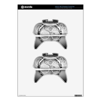 World in Chrome Xbox 360 Controller Skin