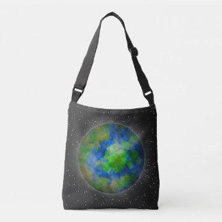 World In Dark Space Crossbody Bag