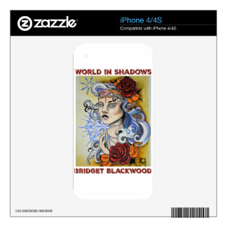 World in Shadows logo by Chelsea Holloway Skins For iPhone 4S