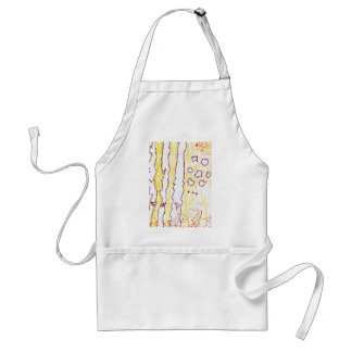 World in Shreds Adult Apron