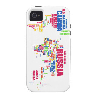 World in words iPhone 4/4s case
