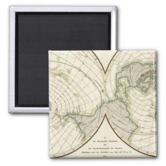 World isodynamic lines magnet