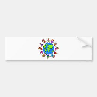 World Kids Bumper Sticker