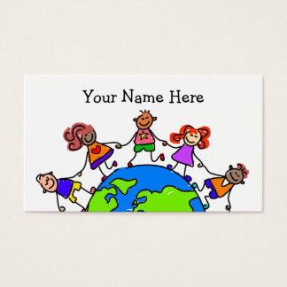 World Kids Business Card