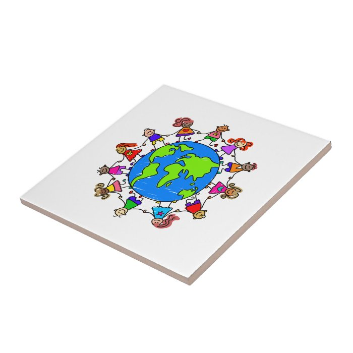 World Kids Ceramic Tile