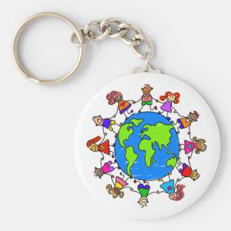 World Kids Key Chain