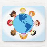 world kids mouse pad