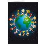 World kidz greeting card