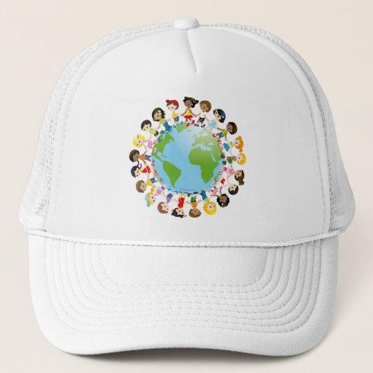World kidz trucker hat