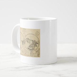 World land surface giant coffee mug