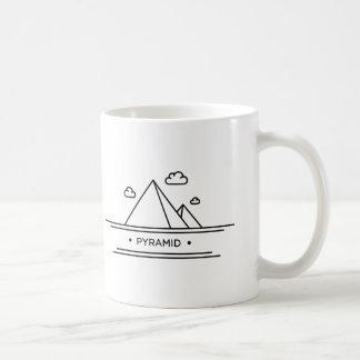 World Landmark: Egyptian Pyramid Coffee Mug