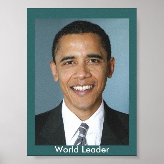 World Leader Poster