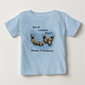 World Leaders React (Obama) Baby T-Shirt