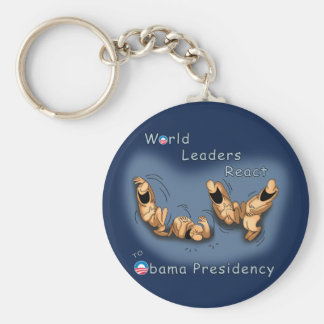 World Leaders React (Obama) Keychain