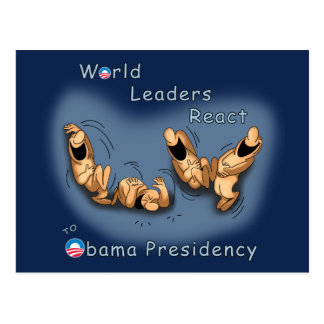World Leaders React (Obama) Postcard