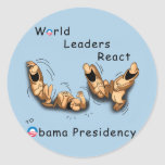 World Leaders React (Obama) Sticker