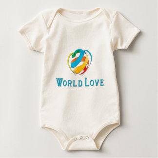 World Love 2016 Collection Baby Bodysuit