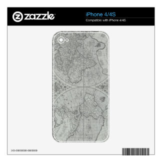 World Map 10 Skin For The iPhone 4