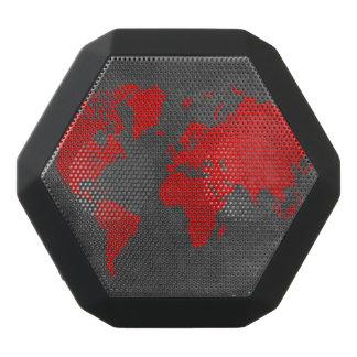 world map 11 black bluetooth speaker