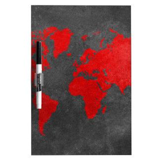 world map 11 Dry-Erase board