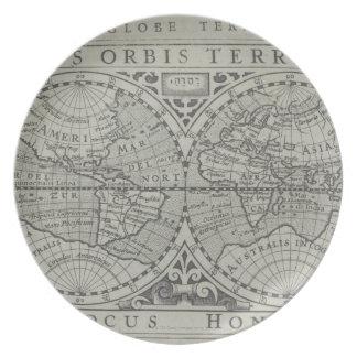 World Map 11 Plates
