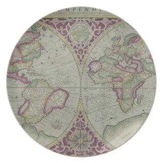 World Map 12 Plates