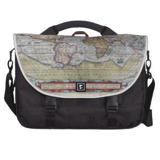 World Map 1572 Laptop Commuter Bag