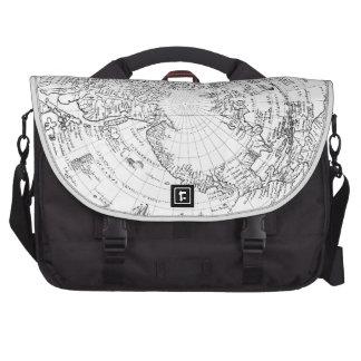 World Map 1628 (northern hemisphere) Commuter Bags