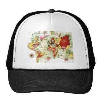 World Map 1675 Trucker Hat