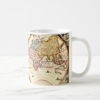 World Map 1680 Coffee Mug