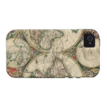 World Map 1689 print iPhone 4 Case