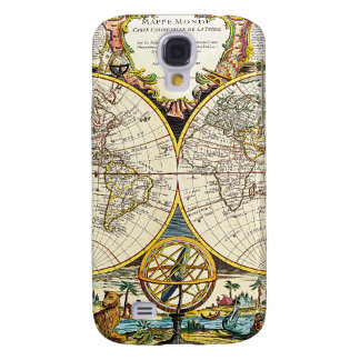 World Map 1755 Galaxy S4 Case