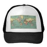 World map 1919 hat
