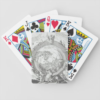 World Map 2 Bicycle Playing Cards