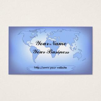 World Map 2 Business Card