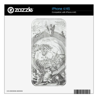 World Map 2 Skins For The iPhone 4S