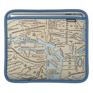 WORLD MAP 2ND CENTURY SLEEVE FOR iPads