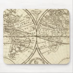 World Map 4 Mouse Pad