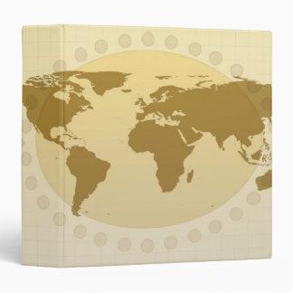 World Map 5 Binder