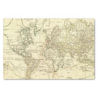 World Map 5 Tissue Paper