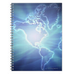 World Map 6 Note Book