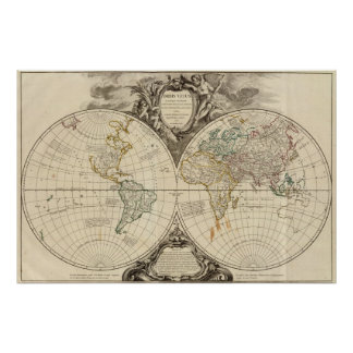 World Map 7 Poster