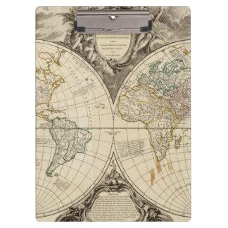 World Map 8 Clipboard