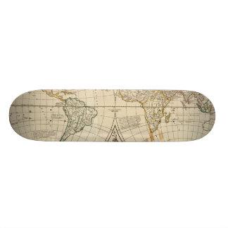 World Map 8 Skateboard