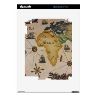 World Map - Africa Decals For The iPad 2