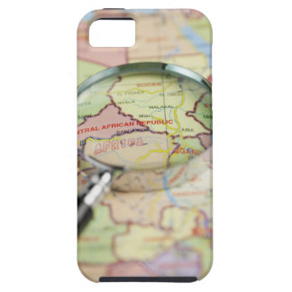 World Map, Africa iPhone SE/5/5s Case
