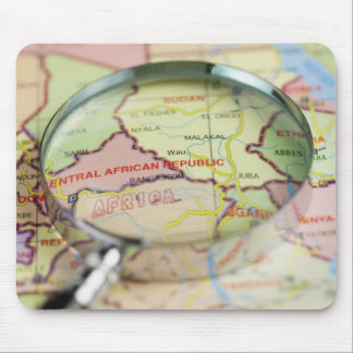 World Map, Africa Mouse Pad