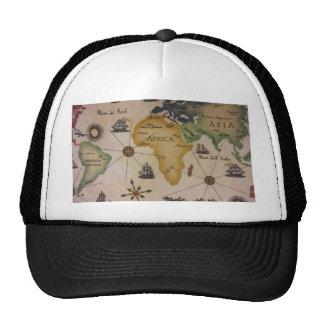 World Map - Africa Trucker Hat