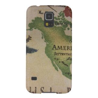 World Map - America Galaxy S5 Case