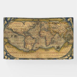 World Map Antique Ortelius Europe Banner